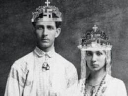 Corneliu Codreanu with his wife, Elena Ilinoiu