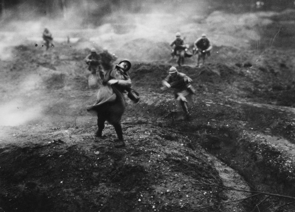 Battle of Verdun, France, 1916.