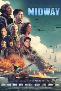 Theatrical release poster for the film Midway.
