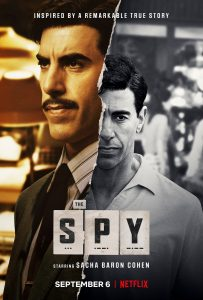 Poster for Netflix's The Spy.