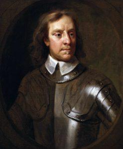 English revolutionary Oliver Cromwell.