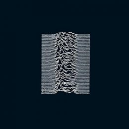 Cover of Joy Division's Unknown Pleasures.