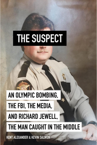 Cover of Kent Alexander and Kevin Salwen's book, The Suspect.