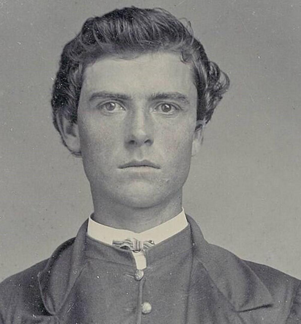 Iowa-born William F. Cody at 19.